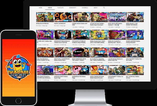 Thumbnail Designers Desktop and Mobile samples